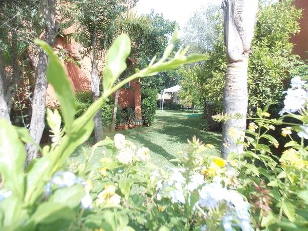 espace verts golf Benslimane
