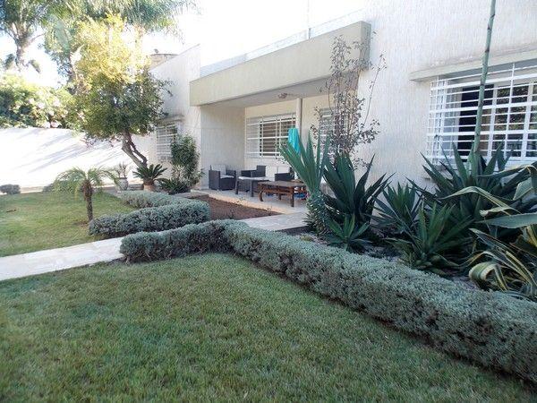 villa meublée avec jardin centre ville Mohammedia