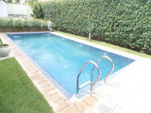 Location villa vide avec piscine Mohammedia