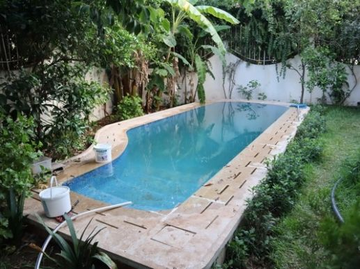 Vends villa avec piscine Benslimane