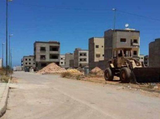 Terrain zone immeuble Riad Salam
