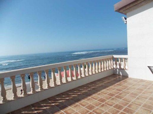 terrasse vue sur mer plage David
