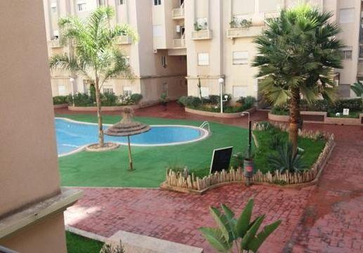 piscine résidence Assalam