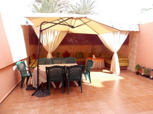 Location meublé avec superbe terrasse aménagé