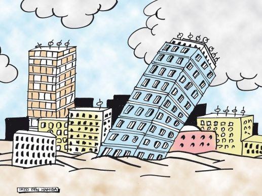 l'immobilier au Maroc s'enfonce dans la crise